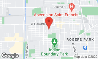 Map of 2638 West Fargo Avenue CHICAGO, IL 60645