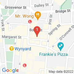 Google Map of 264-278 George St Sydney, NSW 2000