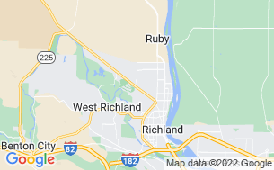 Map of Horn Rapids RV Resort