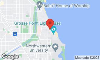Map of 2648 Sheridan Road Evanston, IL 60201