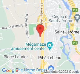 Google Map of 265%2C+Rue+John-F.-Kennedy%2CSaint-Jerome%2CQuebec+J7Y+4B5