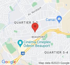 Google Map of 265%2C+Seigneuriale%2CQuebec%2CQuebec+G1C+3P7