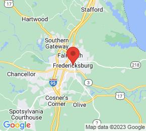 Job Map - 265 BROOKVIEW CENTRE WAY STE 400 Fredericksburg, Virginia 37919 US