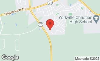 Map of 2655 Fairfax Way YORKVILLE, IL 60560
