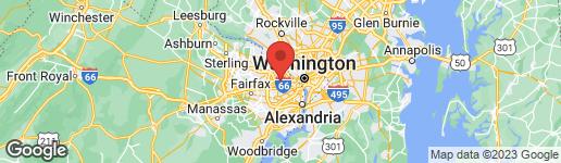 Map of 2658 QUANTICO STREET ARLINGTON, VA 22207