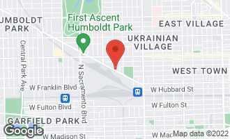 Map of 2658 West Grand Avenue CHICAGO, IL 60612