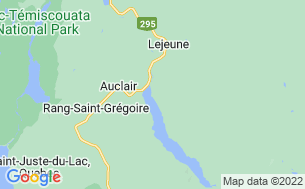 Map of Camping Lejeune