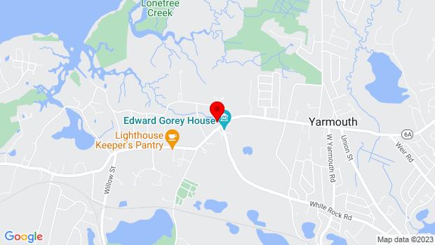 Google Map of 266 Main Street, Yarmouth Port, MA 02675