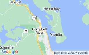 Map of Thunderbird RV Park & Resort