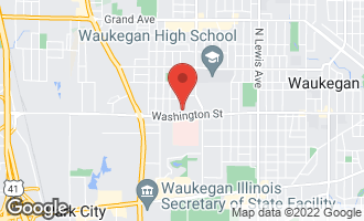 Map of 2662 Washington Street WAUKEGAN, IL 60085