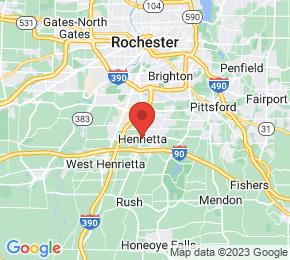 Job Map - 2665 EAST HENRIETTA ROAD Henrietta, New York 14467 US