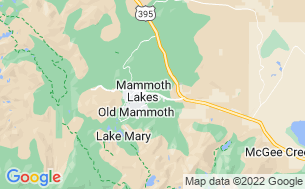Map of Mammoth Mountain RV Park