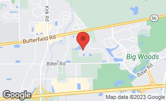 Map of 2673 Nicole Circle AURORA, IL 60502