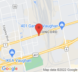Google Map of 2685+Highway+Seven+West%2CConcord%2COntario+L4K+1V8