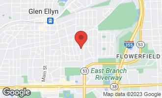 Map of 269 Van Damin Avenue GLEN ELLYN, IL 60137