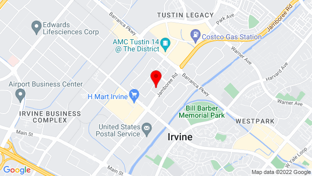 Google Map of 2691 Richter Avenue, Suite 105, Irvine, CA 92606