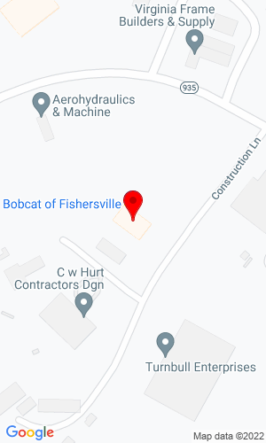 Google Map of Valley Equipment Center, Inc. 27 Construction Lane, Fishersville, VA, 22939