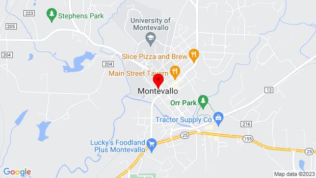 Google Map of 27-5-21-3-305-021-000, Montevallo, AL 35115