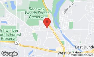 Map of 27 Elm Avenue CARPENTERSVILLE, IL 60110