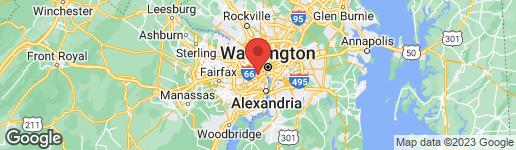 Map of 27 FENWICK STREET N ARLINGTON, VA 22201