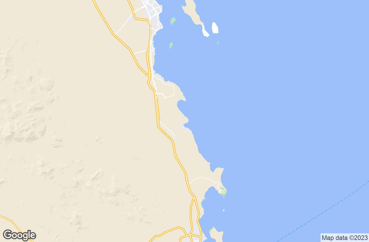 Google Map of Makadi Bay
