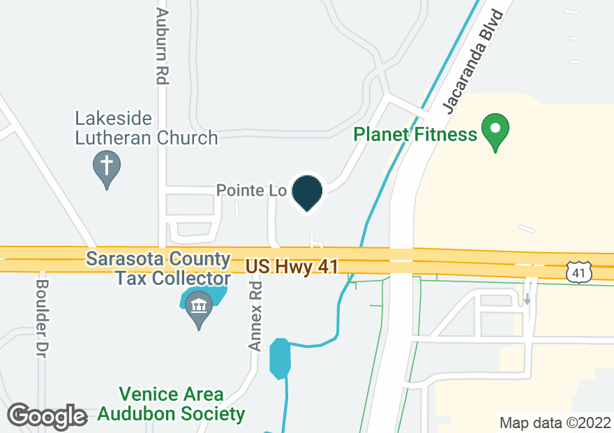Google Map of4105 POINTE PLAZA BLVD