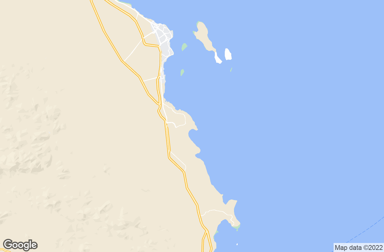 Google Map of Sahl Hasheeh