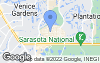 Map of Venice, FL