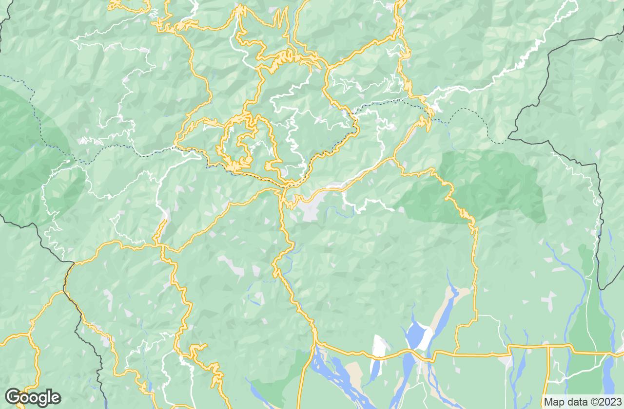 Google Map of Kalimpong