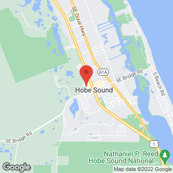 Map of Hair Cuttery - Closed at 11762 Se Federal Hwy, Hobe Sound, FL 33455