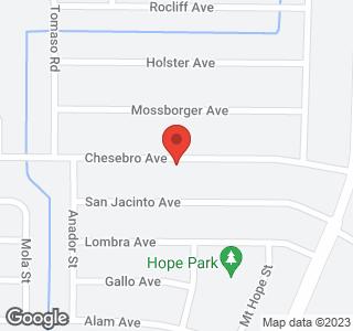 Chesebro Avenue