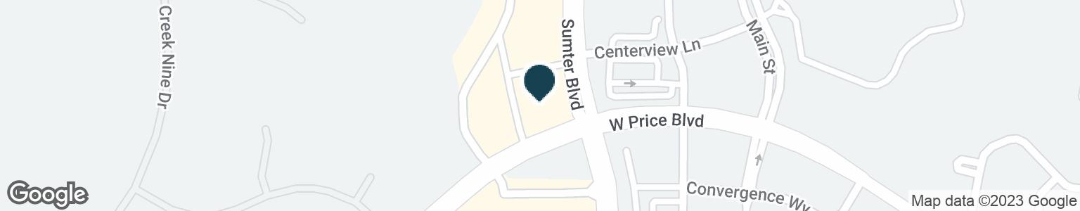 Google Map of1009 N SUMTER BLVD