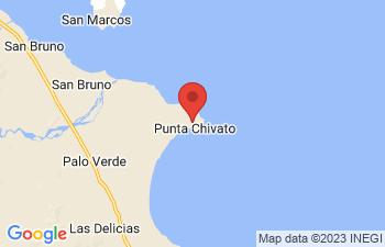 Map of Punta Chivato