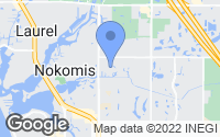 Map of Nokomis, FL