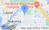 Map of Nokomis, FL