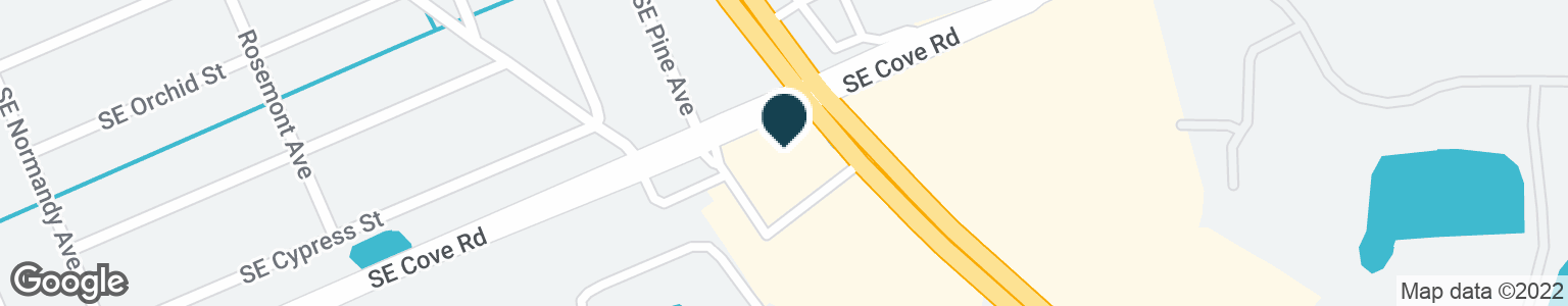 Google Map of5800 SE FEDERAL HWY