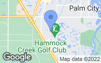 Map of Palm City, FL