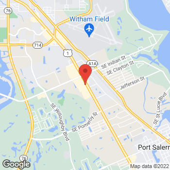 Map of Panera Bread at 3500 SE Federal Hwy, Stuart, FL 34997