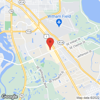 Map of Staples at 3150 SE Federal Highway, Stuart, FL 34994