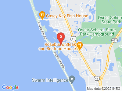525 S Shore Dr Osprey Florida 34229 locatior map