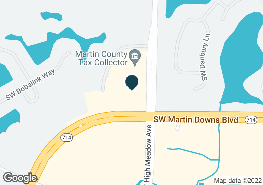 Google Map of3053 SW MARTIN DOWNS BLVD