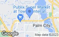 Map of Palm City, FL