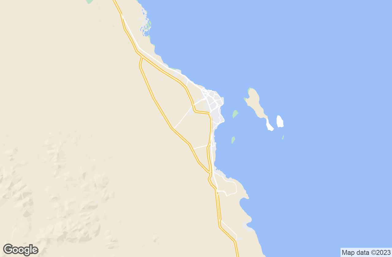 Google Map of الغردقة