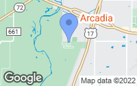 Map of Arcadia, FL