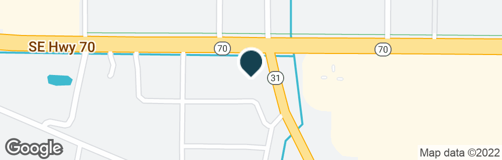Google Map of2575 NE HIGHWAY 70