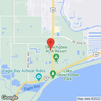 Map of Hair Cuttery at 3549 Us Highway 441 S, Okeechobee, FL 34974