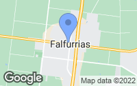 Map of Falfurrias, TX