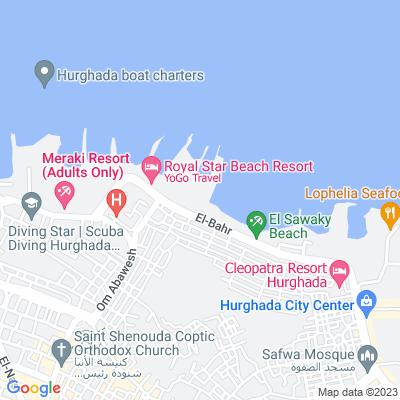 خريطة فندق قرية الجيسوم