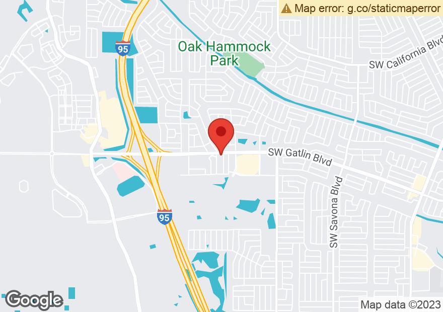 Google Map of 1954 SW GATLIN BLVD