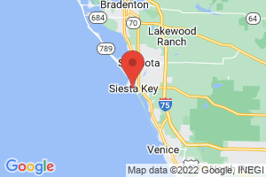Map of Siesta Key
